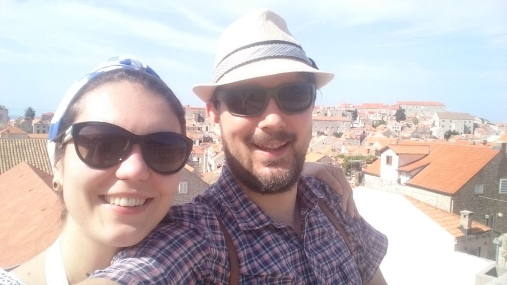 Verena und Roman in Dubrovnik