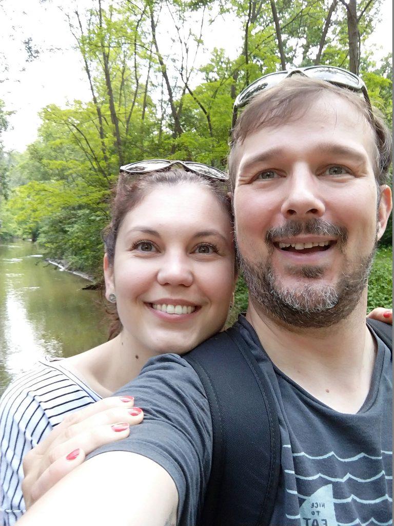 Verena und Roman im Auerlebnisweg
