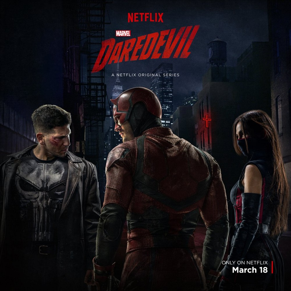 Filmplakat Daredevil.